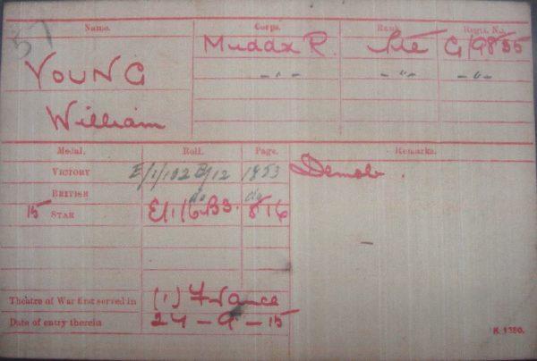1914/15 Star Trio Middlesex Regt.