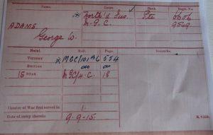 1914/15 Trio North'd Fus/MGC W.I.A.