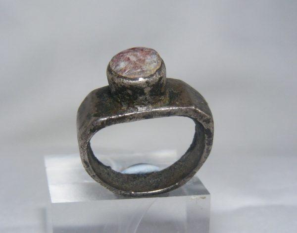 2nd/3rd C. Silver Carnelian Ring