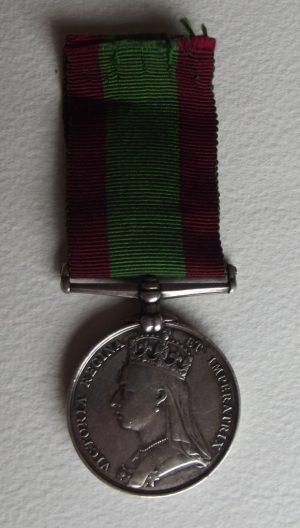 Afghan Medal 1878-80 81st Ft.