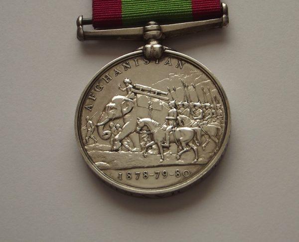 Afghanistan Medal 1/25th Foot