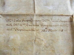 Early Georgian Indenture, 1725