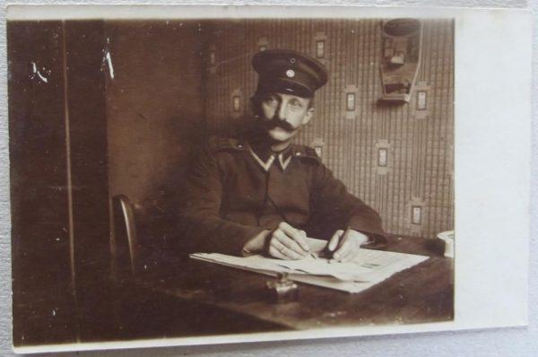 German NCO Writing Reports