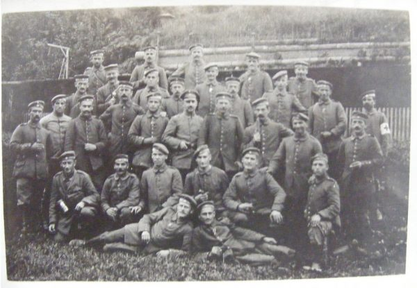 Group Soldiers with Medic.