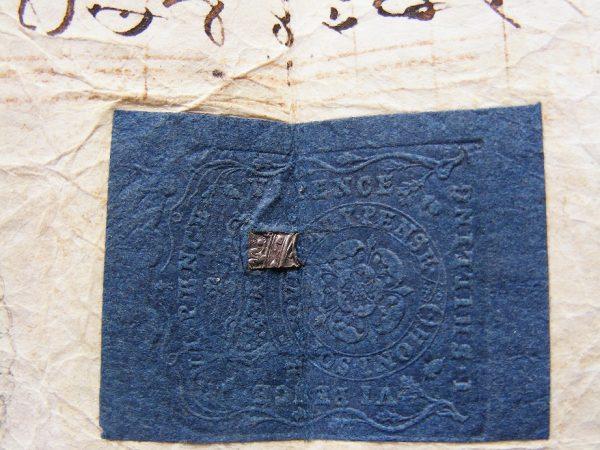 Large Indenture (Tripartite) 1761