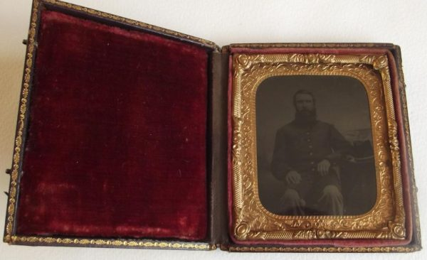 Sixth Plate Tintype Federal Officer