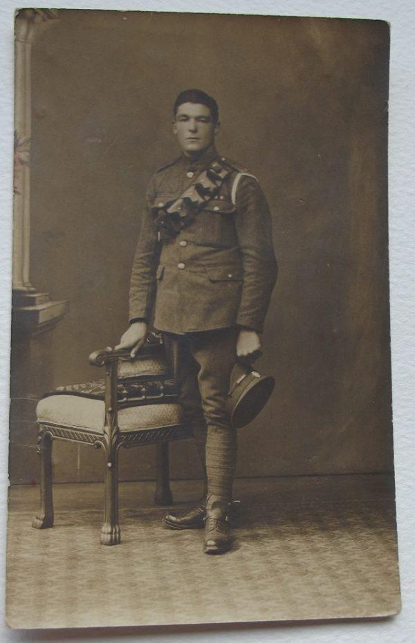 Soldier Wearing Bandelier