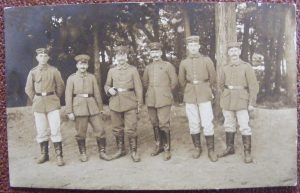 Soldiers Beside a Wood