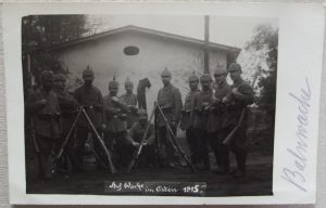 Soldiers Covered Pickelhaubes