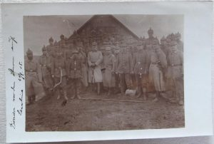 Soldiers with Pickelhaubes