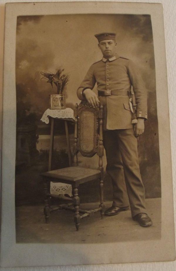 Studio Portrait Standing Soldier