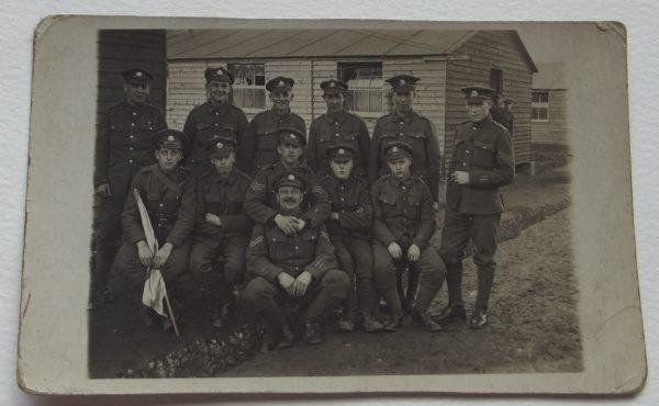 Twelve British Soldiers in Barracks