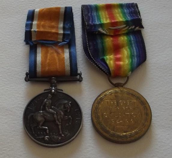 Pte. A. Hayward R. Irish Fusiliers