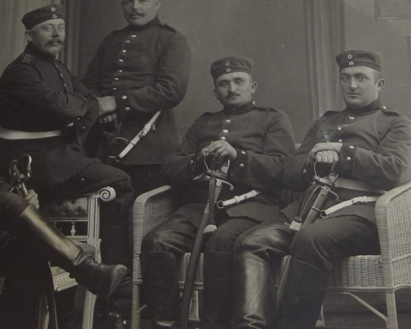 WWI 5 German Cavalrymen