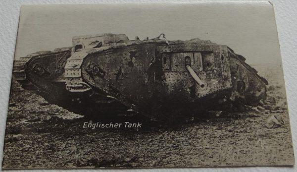 WWI Englischer Tank