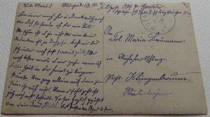 WWI German Jager Soldier