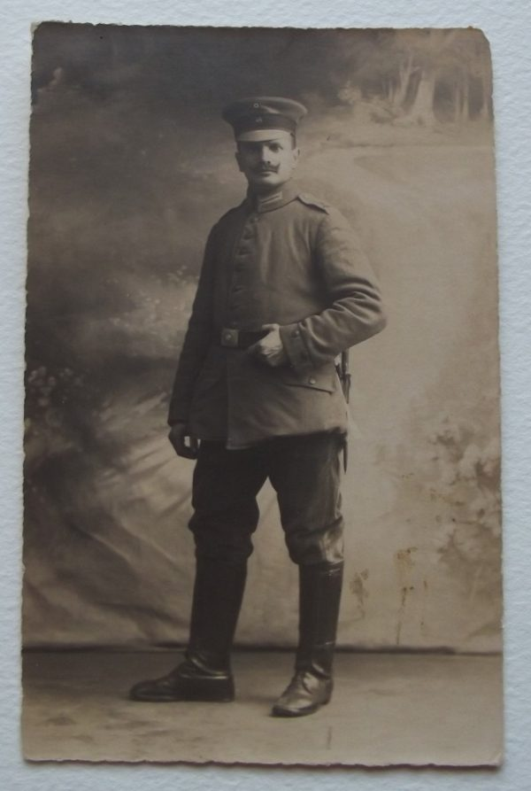 WWI German Soldier with Bayonet