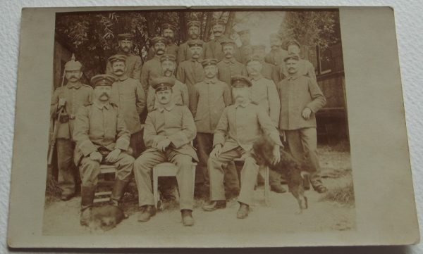 WWI Gp. German Soldiers