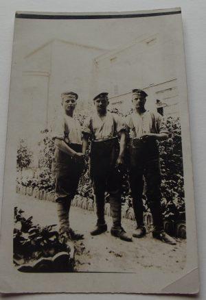 WWI Gp. Three German Soldiers