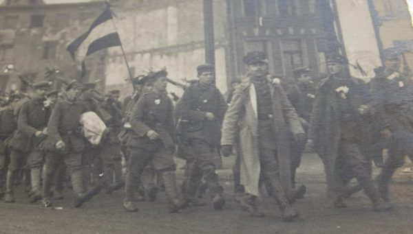 WWI Marching Infantry