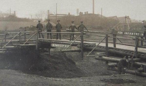 WWI Royal Engineers Trestle Bridge