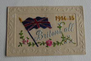 WWI Silk Britons All